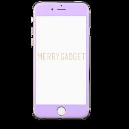 9Hガラスフィルム PASTEL PURPLE for iPhone6s/6専用♡MERRYGADGET