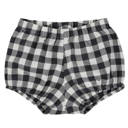 last 1 !!【little cotton clothes】poppy bloomers - charcoal gingham
