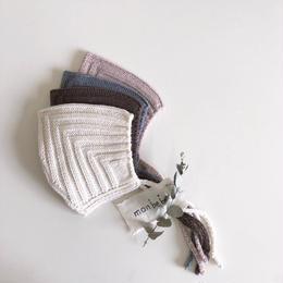 【monbebe】kobito knit bonnet