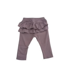 【juliedausell】ruffle leggings gray