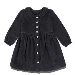 【littlecotton clothes】Agatha dress - charcoal cord