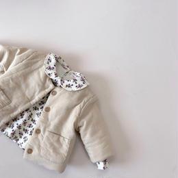 【monbebe】front poket jacket