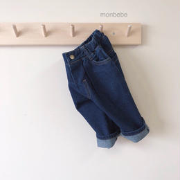 【monbebe】denim pants