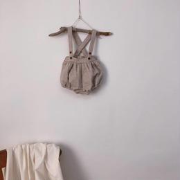 【monbebe】suspenders bloomer