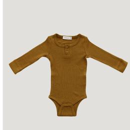 【Jamie kay】Cotton Modal Bodysuit - Golden