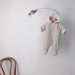 【monbebe】bebe corduroy jump suit