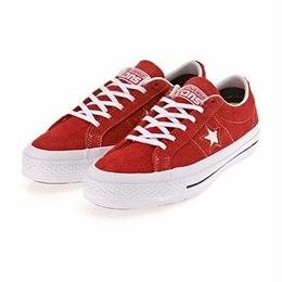 CONS One Star Hairy Suede RED