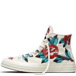 "CONVERSE CTAS'70 HI ""EMBROIDERED ROSE"""