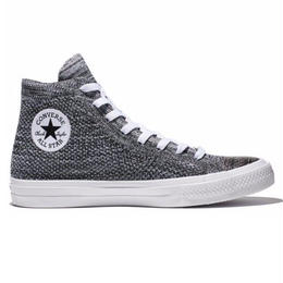 CHUCK TAYLOR ALL STAR  x NIKE  FLYKNIT HI GRAY