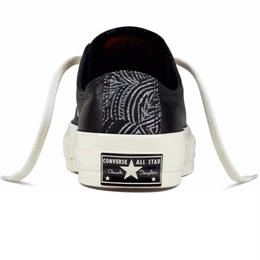 Chuck Taylor All Star 1970`s LOW Leather tapestry BLACK