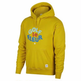 ONE STAR x GOLF LE FLEUR PULLOVER HOODIE - YELLOW