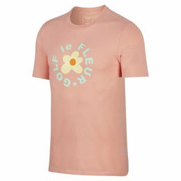 ONE STAR x GOLF LE FLEUR T-SHIRT - Peach