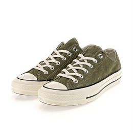 Chuck Taylor All Star 1970`s vintage suede Low Medium Olive
