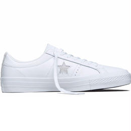 one star premium leather - white
