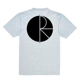[ POLAR SKATE CO] STROKE LOGO TEE  - GREY