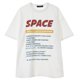 MAINBOOTH Apollo 11 Max T-shirt ( 2COLOR)