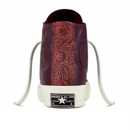 Chuck Taylor All Star 1970`s HI Leather tapestry darksangria