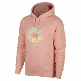 ONE STAR x GOLF LE FLEUR PULLOVER HOODIE - Peach