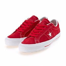 CONVERSE CONS One Star Pro Hairy Suede RED