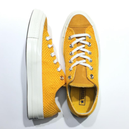 [CONVERSE] CHUCK TAYLOR 1970's LOW - YELLOW WOVEN SUEDE
