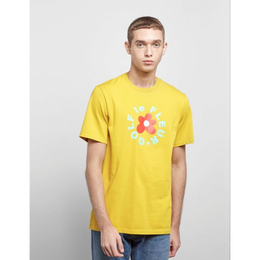 ONE STAR x GOLF LE FLEUR T-SHIRT - Yellow