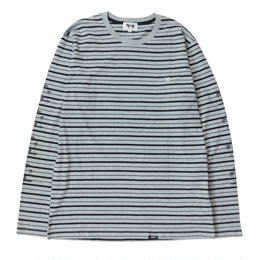 KOISA PALM STRIPE L/S TEE