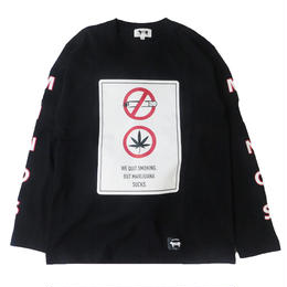 MARIJUANA SUCKS LS TEE