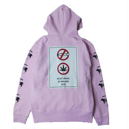 MARIJUANA SUCKS ZIP PARKA