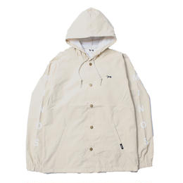 WATER RESISTANT HOODED COACHES JACKET