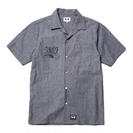 SS SUNRISE DUNGAREE OPEN NECKED SHIRT