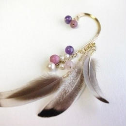 feather ear hook