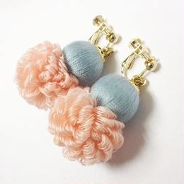 fluffy earrings
