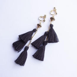 swing tassel earrings
