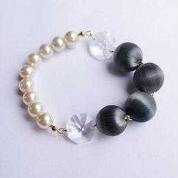 glossy bracelet (gray)