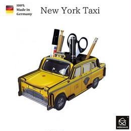 NEW☆ドイツ 【WERKHAUS(ヴェルクハウス)】組み立て式 ペンスタンド   ニューヨークタクシー