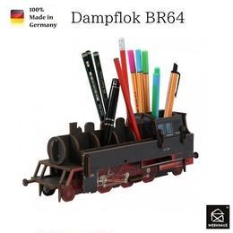 NEW☆ドイツ 【WERKHAUS(ヴェルクハウス)】組み立て式 ペンスタンド   蒸気機関車