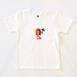 """TARIKI / """"駒"""" KIDS TEE"""