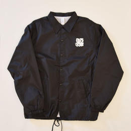 CASPER / 福 COACH JACKET BLACK