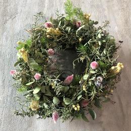 フレッシュ フライングリース ドライフラワー 送料込み wreath  dryflower 2
