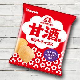 ポテトチップス 甘酒味(1ケース:12袋入り)
