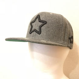 mobstar wool cap grey