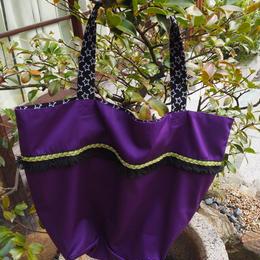 紫フリンジかばん