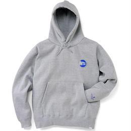 "MTA × INTERBREED ""Uniform Logo Hoodie"" (GRAY)"