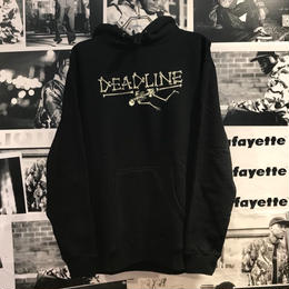 Deadline デッドライン BONE LOGO PULLOVER SWEATSHIRT【BLACK】
