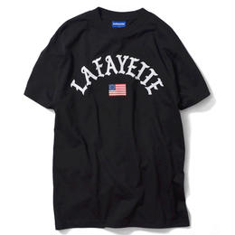 Lafayette OLD GRORY ARCH LOGO TEE (BLACK)