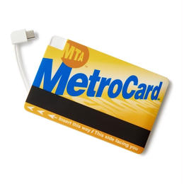INTERBREED×MTA METRO CARD MOBILE BATTERY