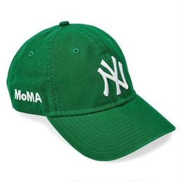 NEW ERA × MoMA 9TWENTY STRAP BACK CAP NY YANKEES  (GREEN)