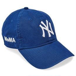 NEW ERA × MoMA 9TWENTY STRAP BACK CAP NY YANKEES  (BLUE)