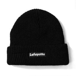 【再入荷】Lafayette×NEW ERA – LOGO SOFT CUFF KNIT CAP (BLACK)