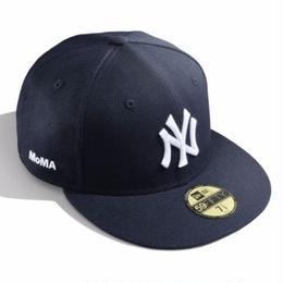 NEW ERA × MoMA NY YANKEES 59FIFTY CAP (NAVY)